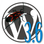 WordPress 3.6 Bug