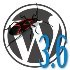 WordPress 3.6 Bug