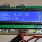 AVR tranzisztor teszter
