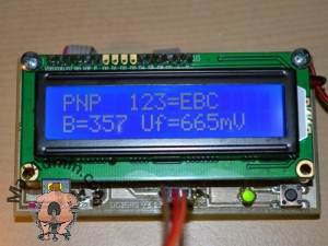 PNP tranzisztor teszt