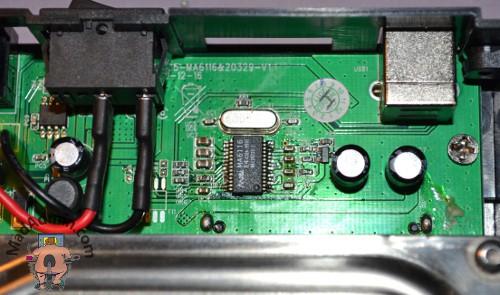 USB-SATA ház megjavítva