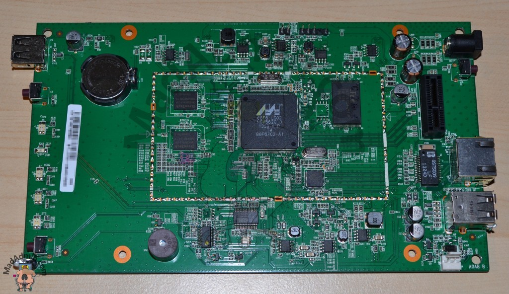 NSA320S alaplap