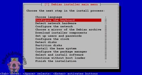NSA320S Debian Installer