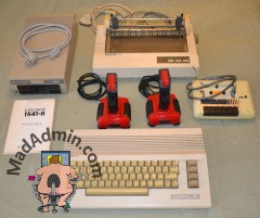 Commodore 64C csomag