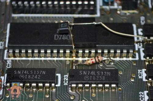 ZX Spectrum 48k tranzisztor