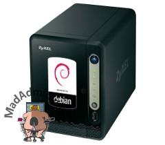 Debian powered NSA320S