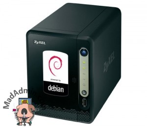 Debian powered NSA320S