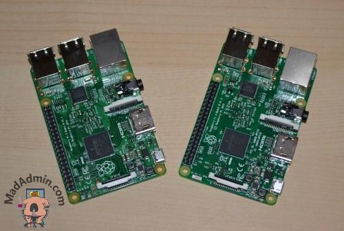 Raspberry Pi 2 és Raspberry Pi 3