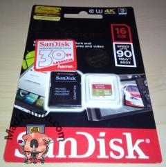 SanDisk Extreme microSD kártya