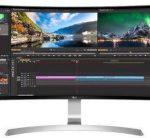Egy LG IPS monitor
