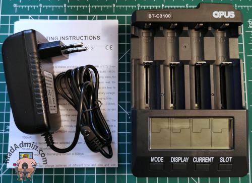 Opus BT-C3100 v2.2 doboz tartalma