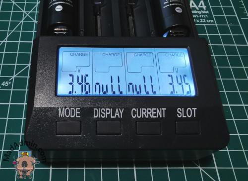 Opus BT-C3100 v2.2 töltés közben