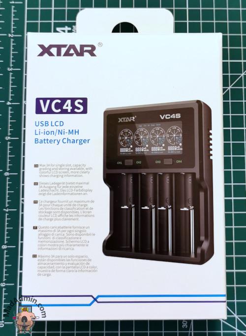 Xtar VC4S doboz