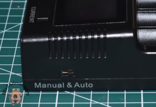 Vapcell S4 Plus kapcsoló