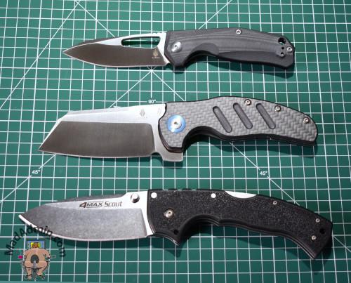 Kizer Kesmec, Kizer Sheepdog XL és Cold Steel 4-max Scout