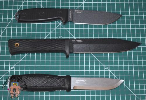ESEE 4, Cold Steel SRK SK-5 és Mora Garberg