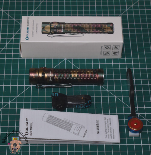 Olight Warrior Mini doboz
