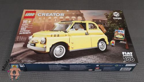 LEGO 10271 Fiat 500 doboz