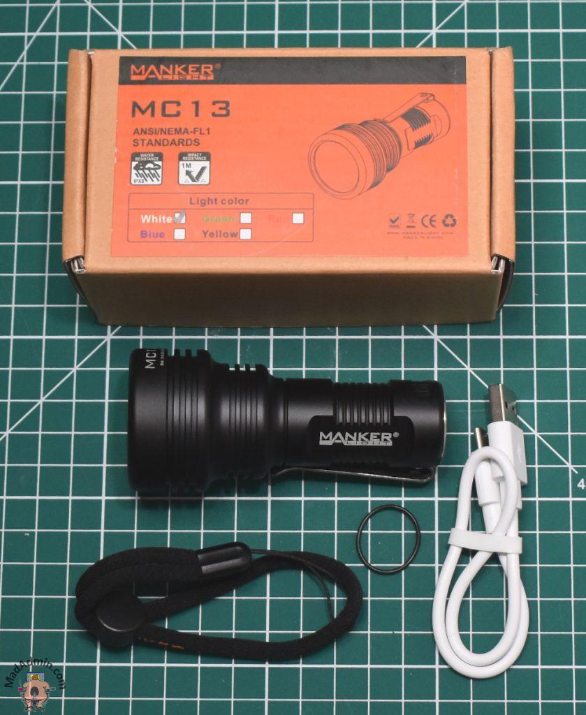 Manker MC13 doboz